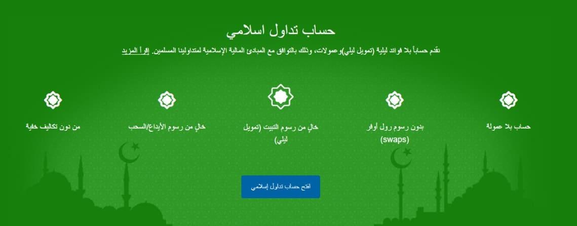 Plus500 Islamic accounts